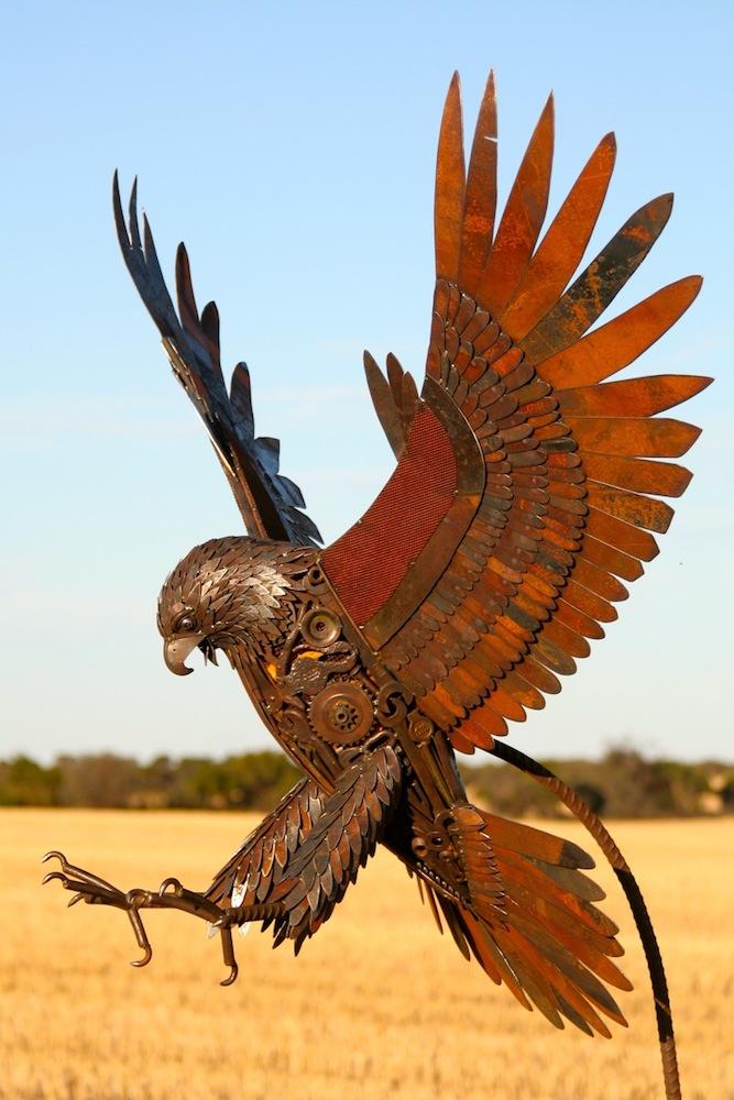 Sculptures by Jordan Sprigg, Brett Walsh Landscaping, Landscape Design, Landscape Architecture, Landscape Designer