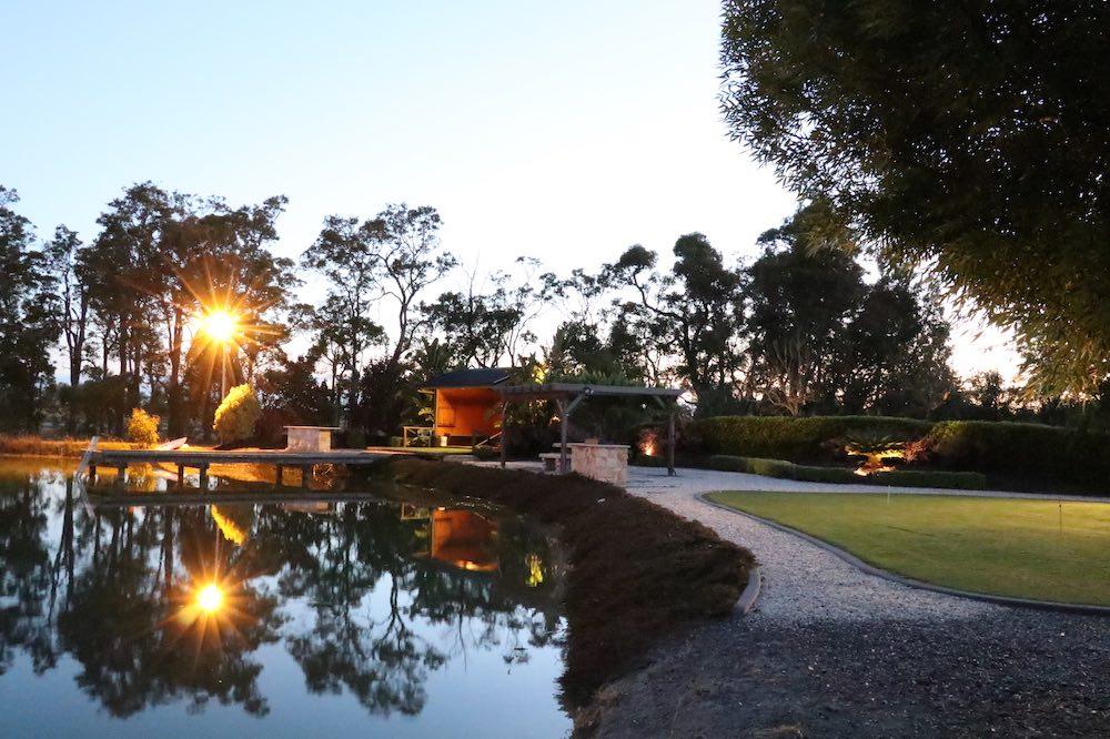 Golf Tee Off, Brett Walsh Landscaping, Landscape Design, Landscape Architecture, Landscape Designer